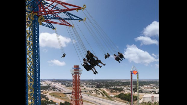 World's Tallest Swing Coming to Six Flags Over Texas