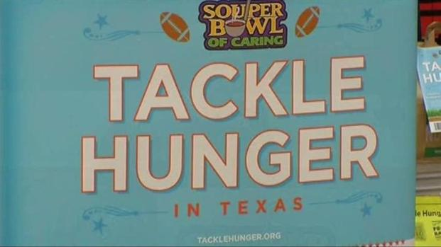 "[DFW] Coppell High Tackles Hunger in ""Souper Bowl"""