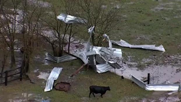 [DFW] Tornado Damage in Lamar County