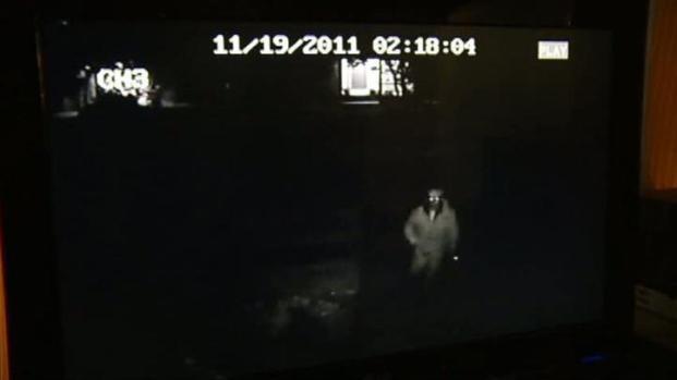 [DFW] Homeowner's Surveillance Camera Captures Prowler