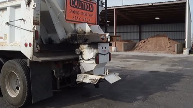 [DFW] Road Crews and Residents Prepare for Winter Weather