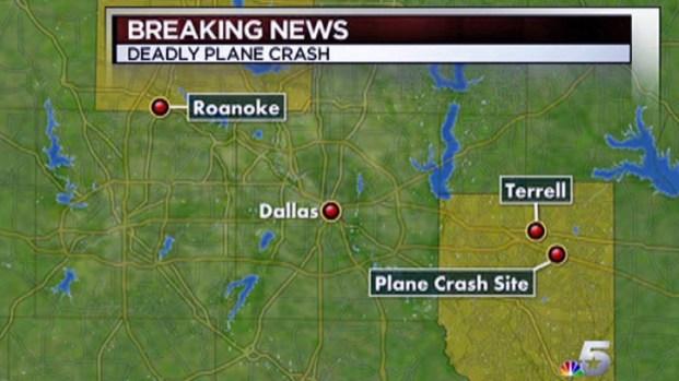 [DFW] Plane Crash Kills Four Near Terrell