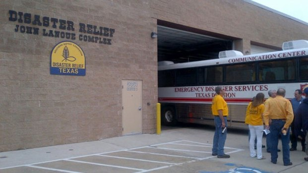 [DFW] TX Baptist Relief Workers Head to Oklahoma