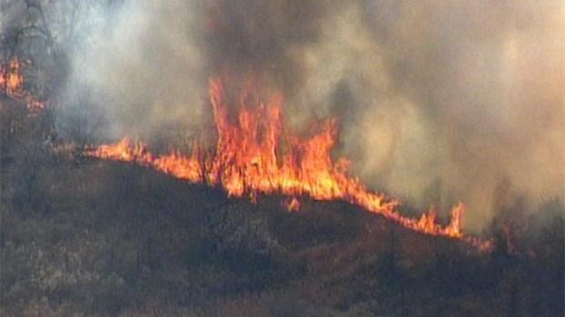 Photos: Wildfire in Jacksboro