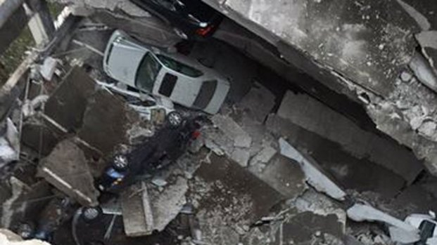 Uptown Dallas Parking Garage Partially Collapses