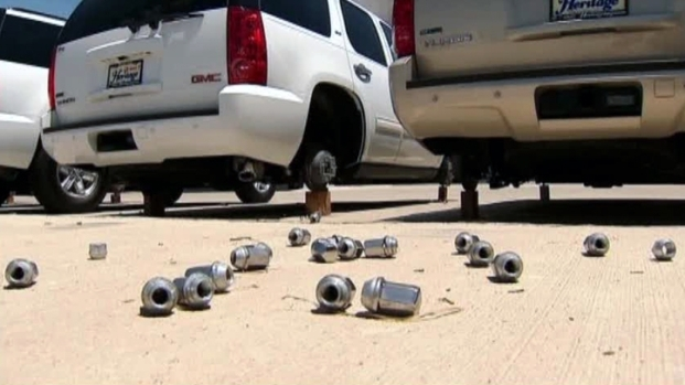 [DFW] Tire Thefts Have Investigators Spinning Their Wheels