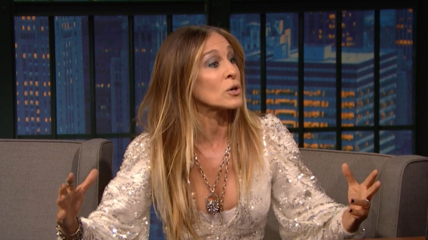 [NATL] 'Late Night': Sarah Jessica Parker Has One Big Post-Midterms Question