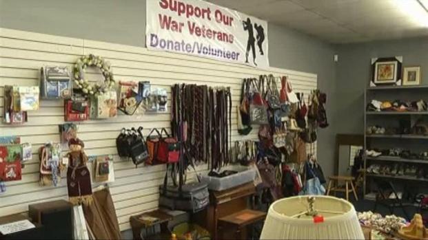 [DFW] Thrift Store Benefits Veterans