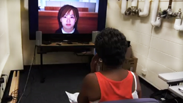 [AP] Virtual Therapist Helps Patient Speak