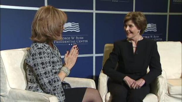 [DFW] Laura Bush on the Joys of Being Back in Texas