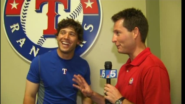 [DFW] Kinsler on Rangers Success vs. Boston