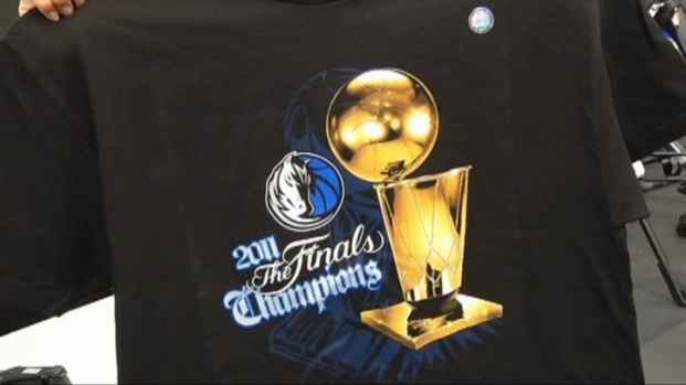 [DFW] Stores Sell Out Of Mavs Championship Gear