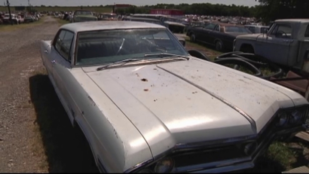 Denton Salvage Yard Sells Classic Cars Nbc 5 Dallas Fort Worth