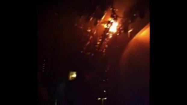 [DFW] VIEWER VIDEO: Rihanna Concert Fire [Explicit Language]