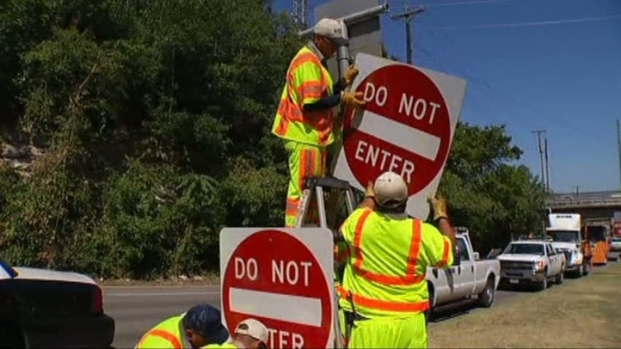 [DFW] Signs Lowered to Stop Wrong-Way Drivers