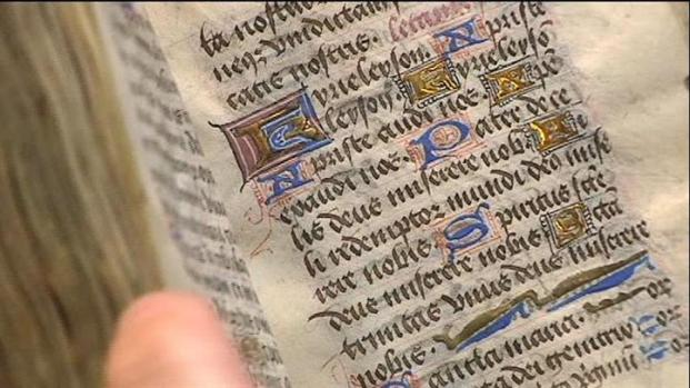 [DFW] 700-Year-Old Book Highlight of Rare Book Collection