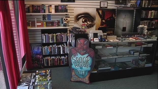 [DFW] Spooky Bookstore Home to Horror