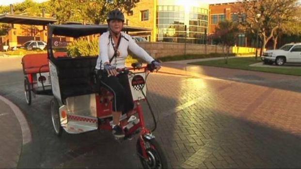 [DFW] $5 Buys A Pedicab Ride in Fort Worth