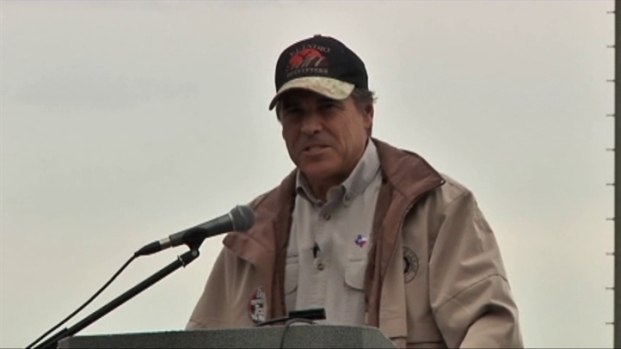 [DFW] Gov. Perry Not Tea Party Favorite