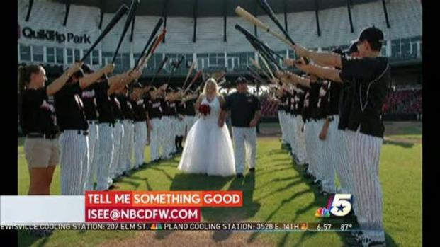 [DFW] Something Good - Ballpark Wedding
