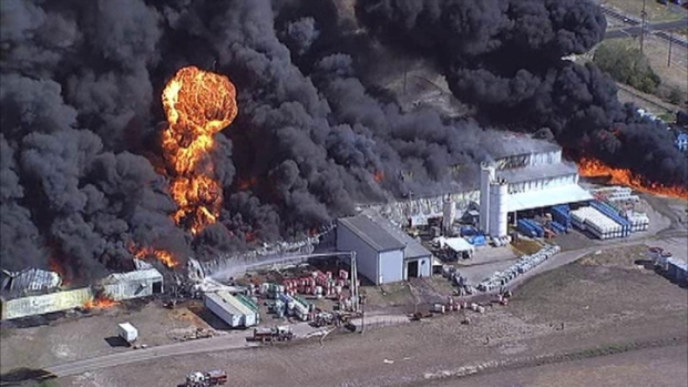 [DFW] Explosions Rock Waxahachie Chemical Warehouse