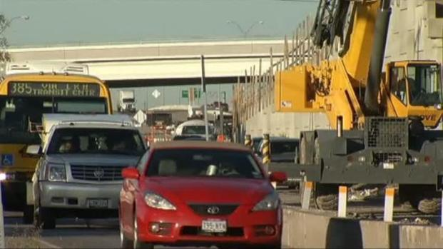 [DFW] Construction Headaches Likely This Weekend