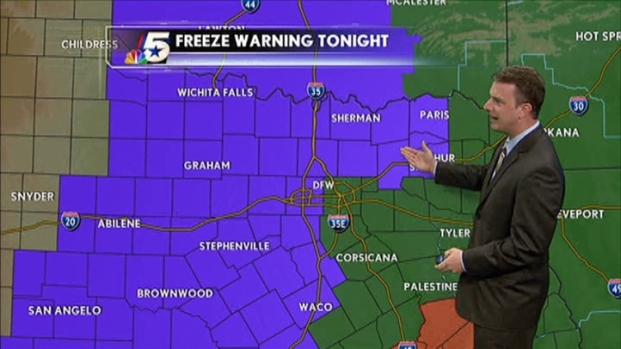 [DFW] Video Forecast - PM - November 3, 2011