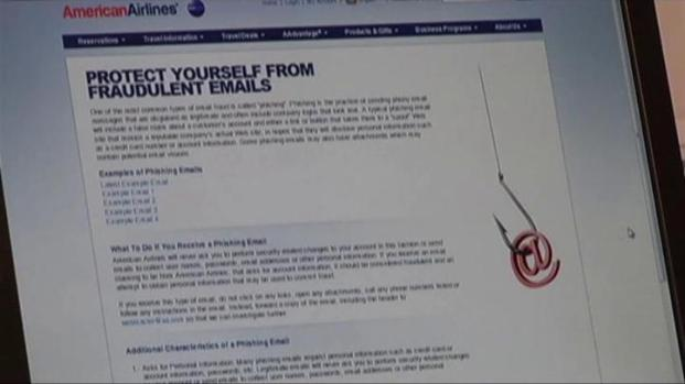 [DFW] American Airlines  Warns of Phishing Scheme