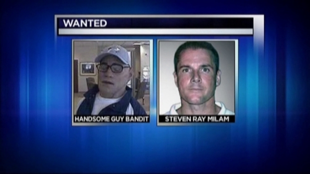 [DFW] Manhunt is on For 'Handsome Guy Bandit'