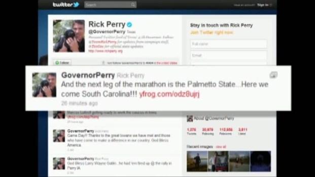 [DFW] Perry Says He's Headed to South Carolina