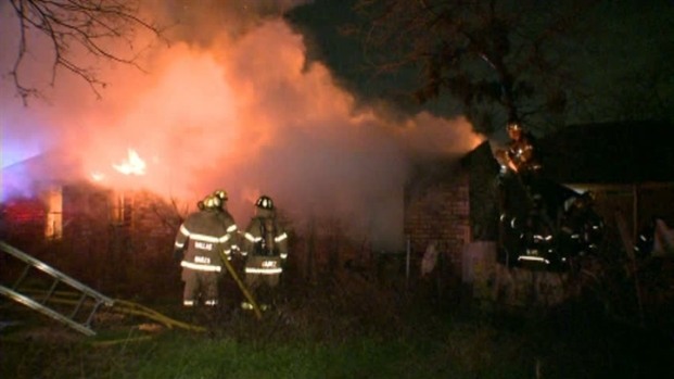 [DFW] W. Dallas Man Critically Injured in Fire