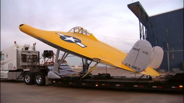 [DFW] Flying Pancake Moved to Dallas' Frontiers of Flight Museum
