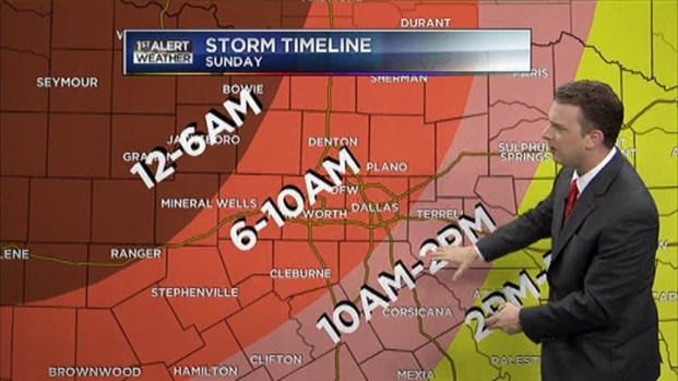 [DFW] Saturday Evening Forecast for April 14, 2012