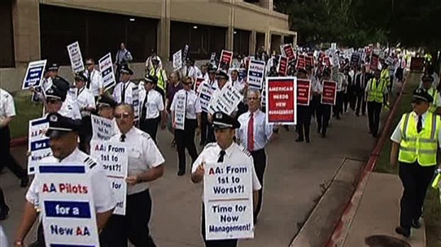 [DFW] AA, Pilots Close to Deal, Protest Planned