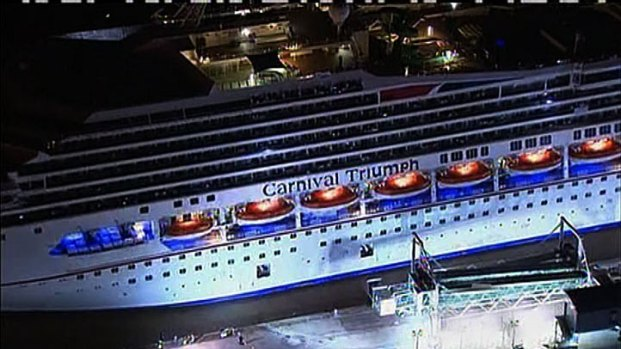 [DFW] Carnival Triumph Arrives at Port