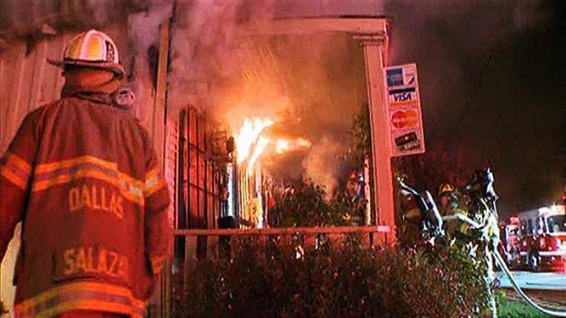 [DFW] Fire Destroys Oak Cliff Flower Shop