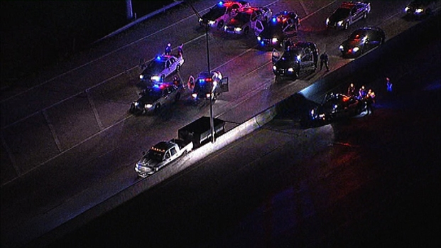 [DFW] Police Pursuit Ends on I-30, Suspect Dead