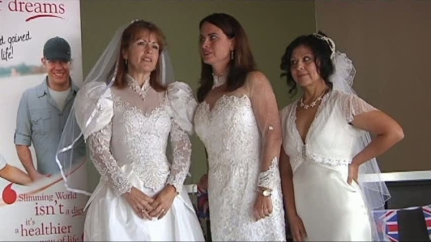 [DFW] Women Vow to Fit Into Wedding Dresses Again
