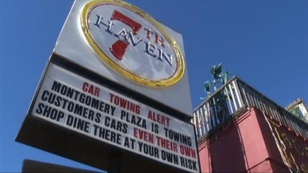 [DFW] 7th Haven Warns Drivers of West Seventh Towing