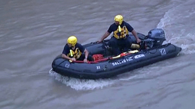 [DFW] Man Possibly Swept Away In Flooding