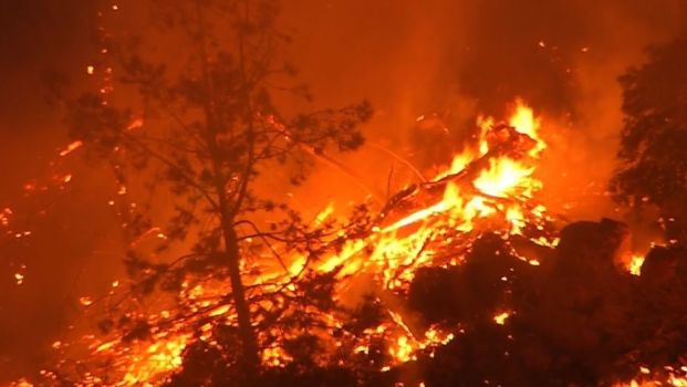 California Wildfire Grows