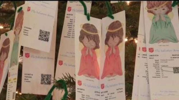 [DFW 12/07/18] The Salvation Army Angel Tree 2018