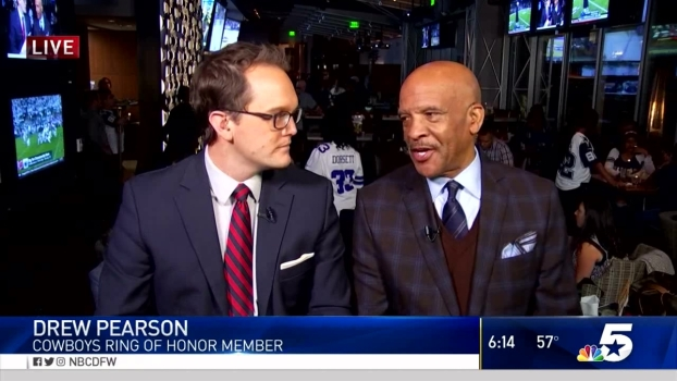 Cowboys Legend Drew Pearson Previews Thursday Night