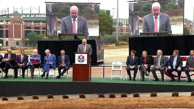 Globe Life Field Ground Breaking (Full Program)