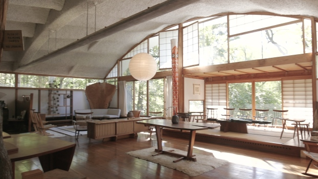 Tour of George Nakashima's Property: Part 1