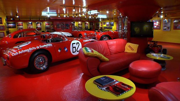 Square Feet: Inside a 12-Car-Garage Party Pad