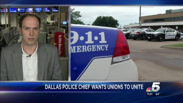 Hallman on Dallas PD Combining Four Unions