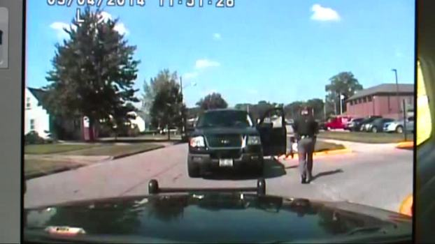 Cop Smashes Car Windshield With Man's Head