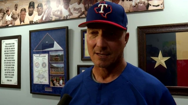 What Father's Day Means To Rangers Manager Jeff Banister
