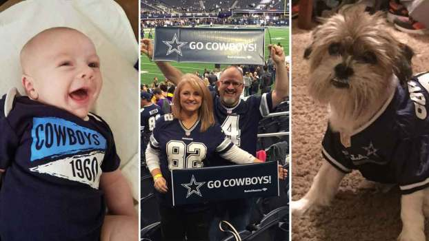 Silver and Blue: Cowboys Fan Pics 11.30